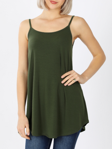 Matilda Reversible Army Green Tank