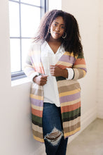 Tranquil Stripes Cardigan