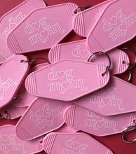 Dog Mom Motel Keychain