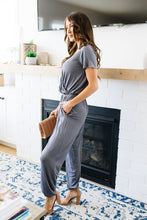 Jumping Jacks Jumpsuit In Slate
