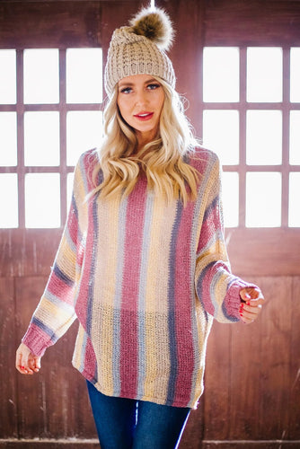 Mellow Striped Sweater
