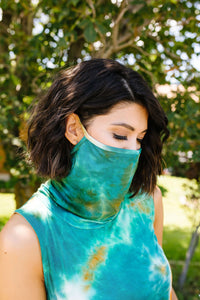 Overprotective Cowl Neck Top In Rust