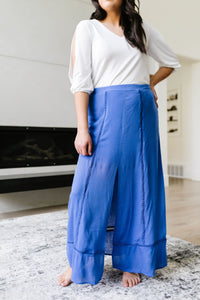 Split Decision Maxi Skirt