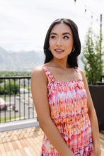 Sumptuous Coral Sundress