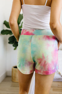 Tie The Knot Shorts in Pink