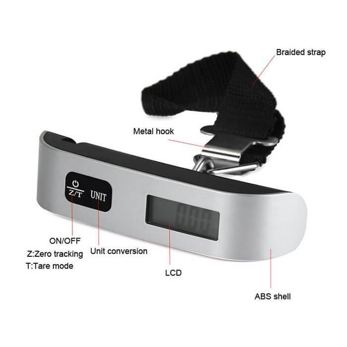 Digital Hanging Luggage Scale