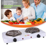 2000W Double Burner Hot Plate Electric Cooking Stove