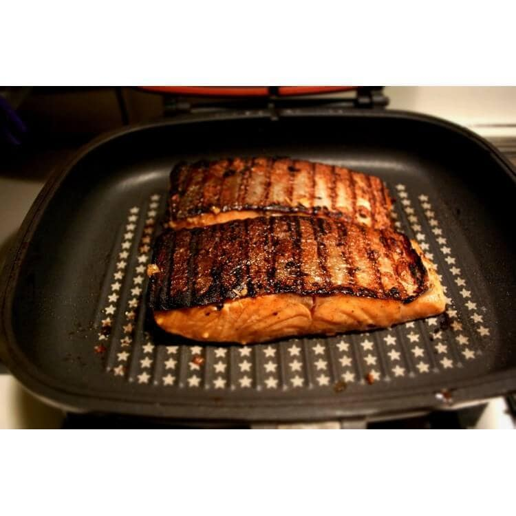 Two Sided Double Grill Non Stick Pressure Pan