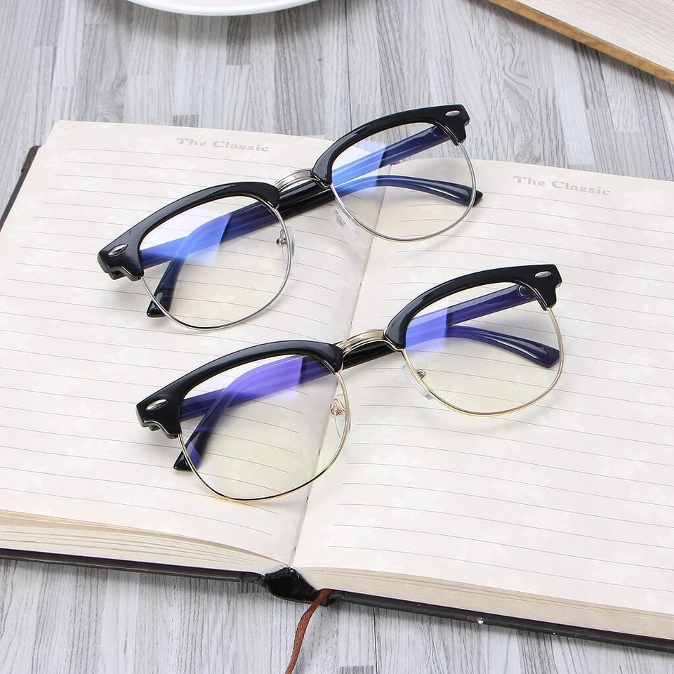 Eye Protection Glasses For Blocking Cellphone & Computer Radiation