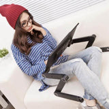 Laptop Desk Ergonomic Table Stand With Mouse Pad