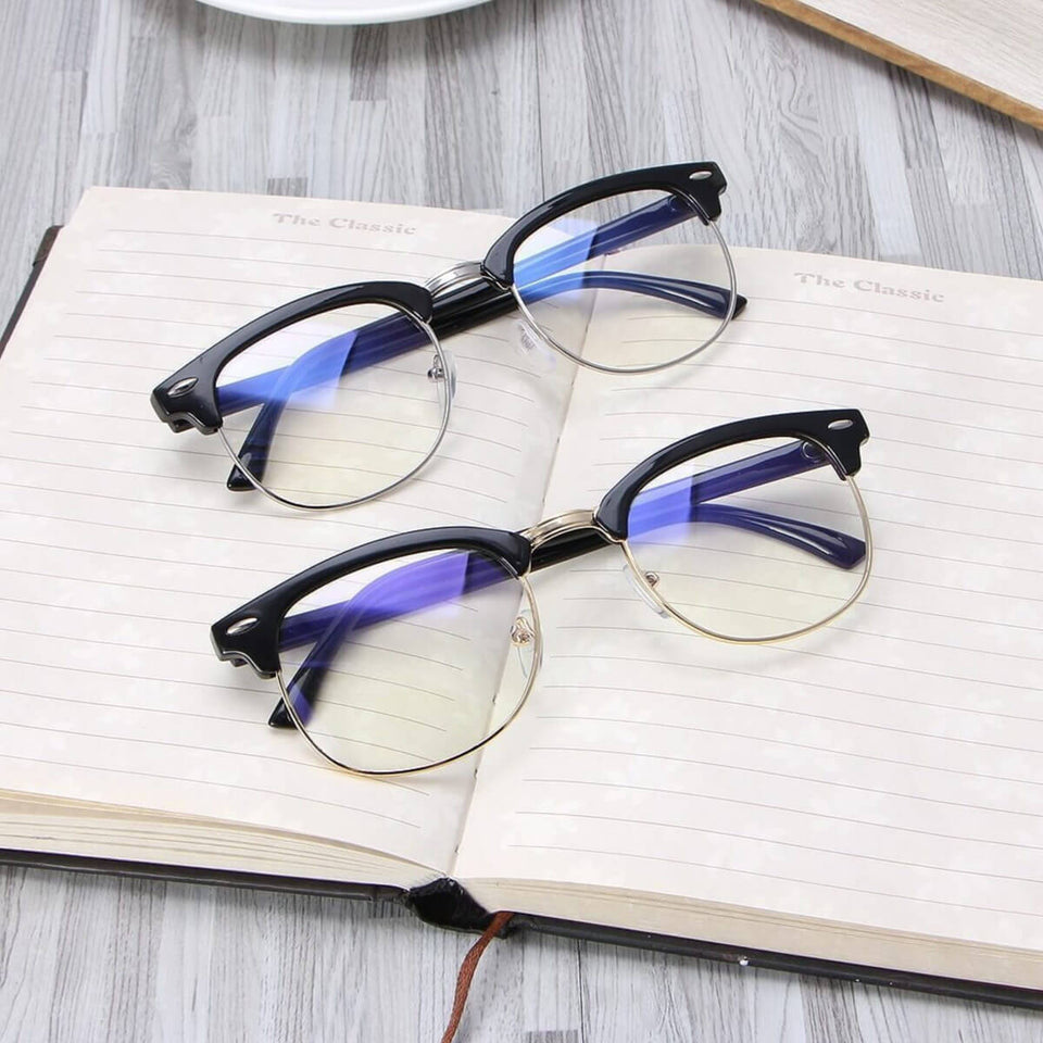 **New 4pcs Eye Protection Glasses For Blocking Computer & Cellphone Radiation
