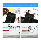 Transparent Eye Protection Glasses For Blocking Computer & Cellphone Radiation