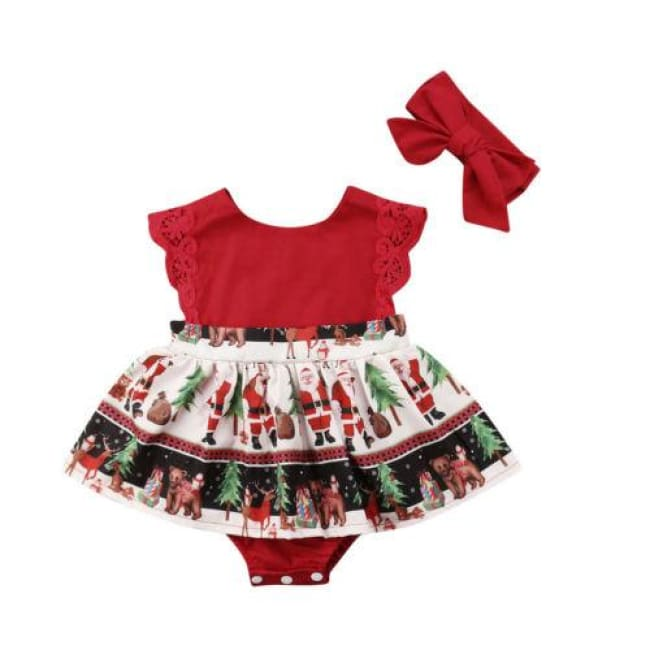 cea2de89c Load image into Gallery viewer, Kidstylo | Christmas Party Dress All In One  - Free ...