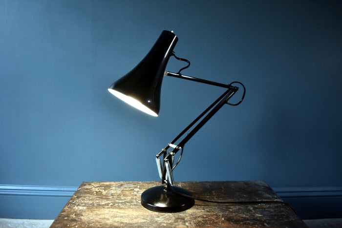 1970's original Anglepoise desk lamp black Model 90