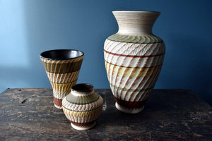 "Selection of Dumler and Breiden ""Dee Cee"" vases"