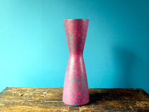 Vintage purple West German Pottery vase by Carstens Keramik 639-32