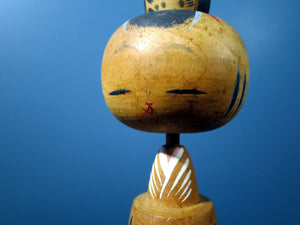 Kokeshi doll - pretty Geisha design