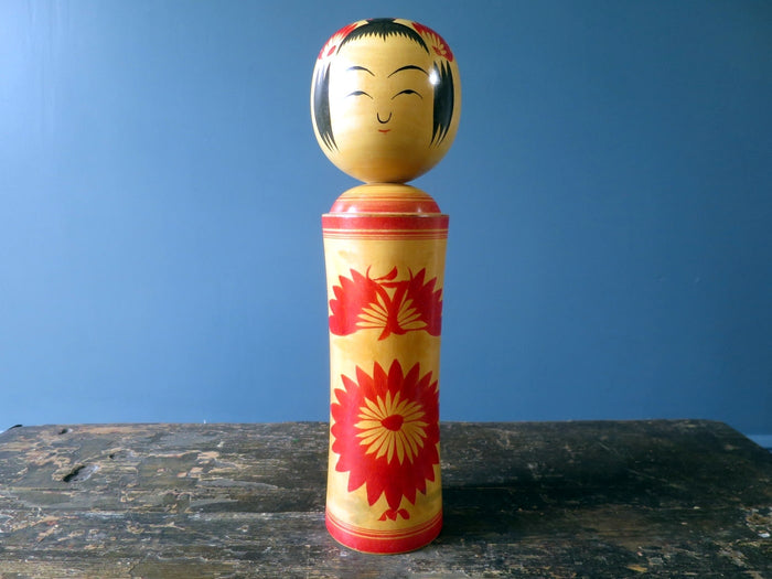 Kokeshi doll - Naruko with squeak - large (31cm)