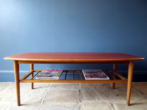 Mid-Century Ercol-style Danish coffee table