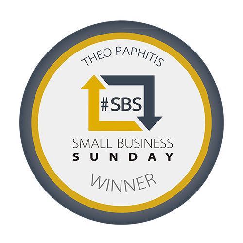 theo paphitis small business award winner #sbs