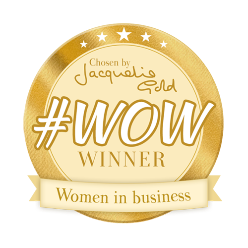Jacqueline Gold women in business award #wow