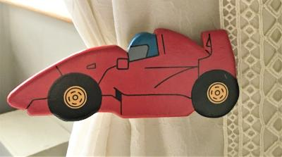 Racing Car Curtain Tie Backs
