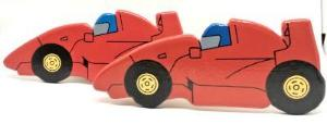 childrens wooden racing car curtain tie backs