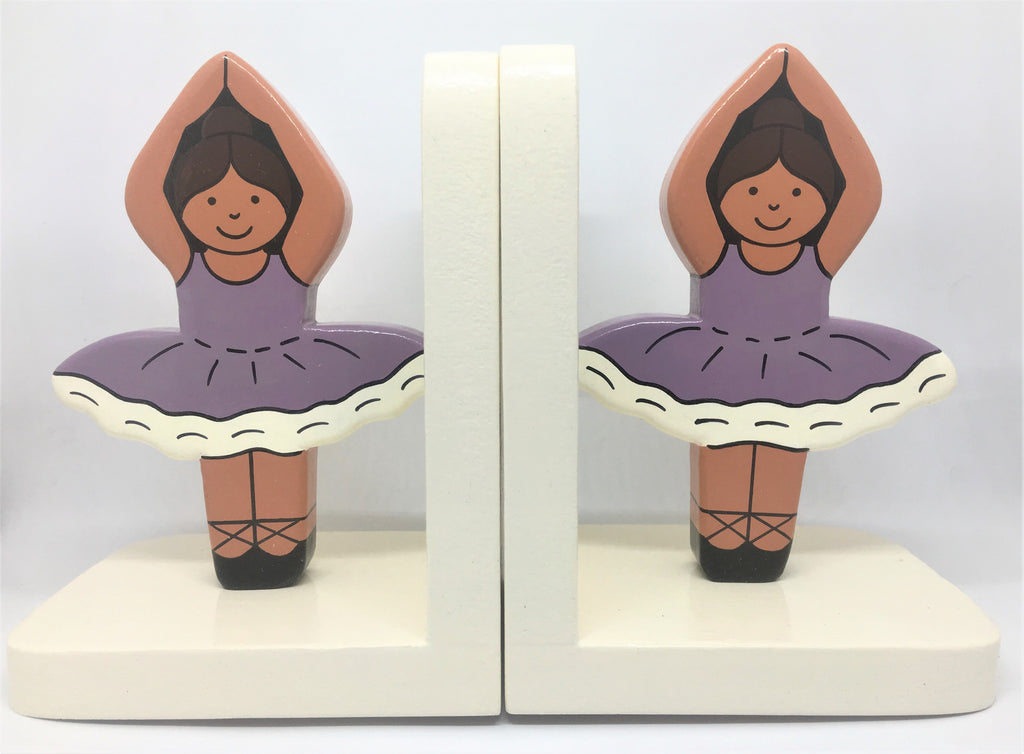 Childrens Ballerina Bookends
