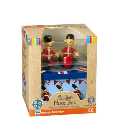childrens soldier music box