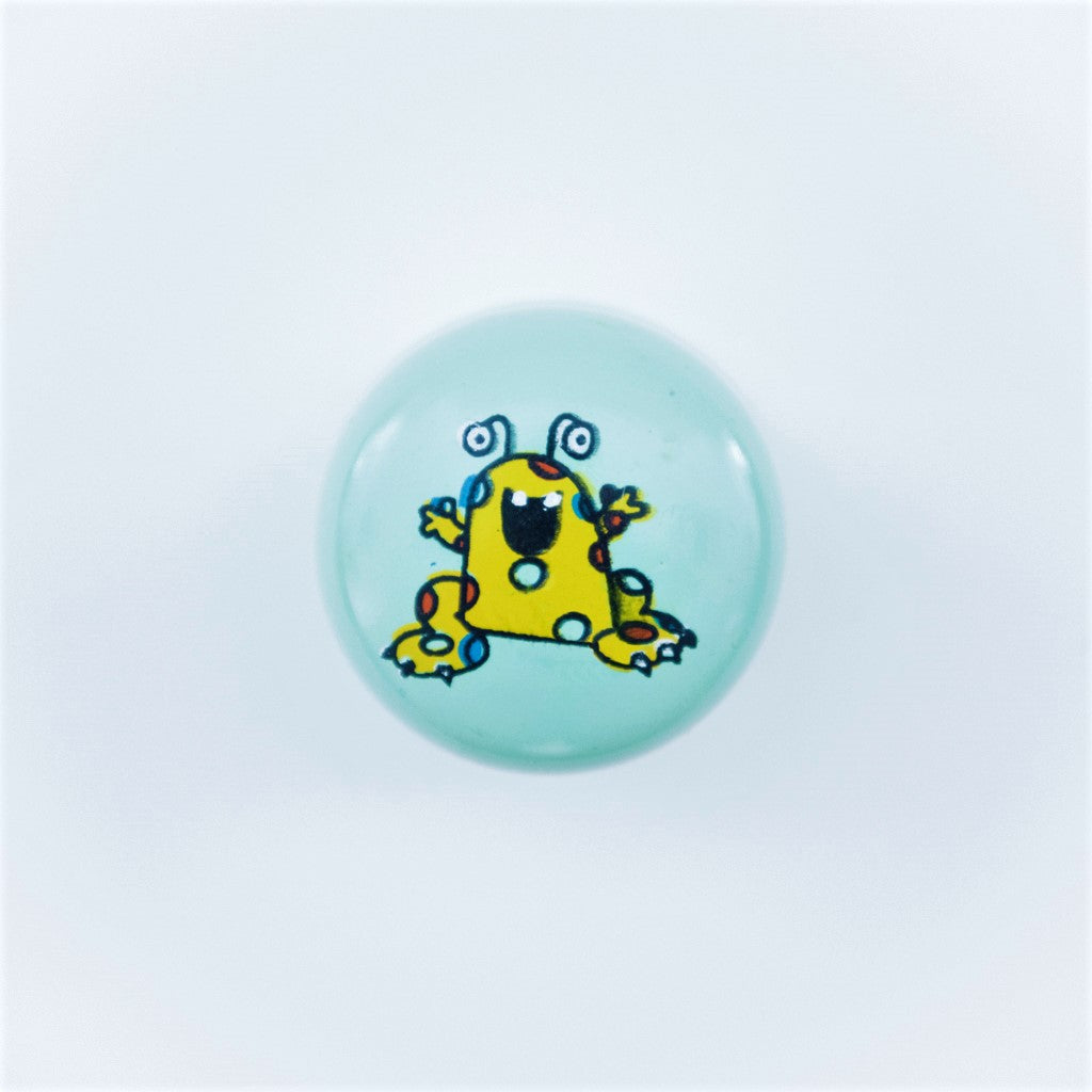 children's space alien door knob