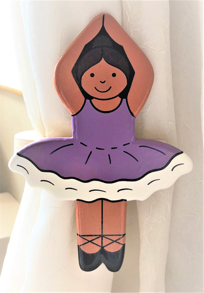 ballerina curtain tie backs