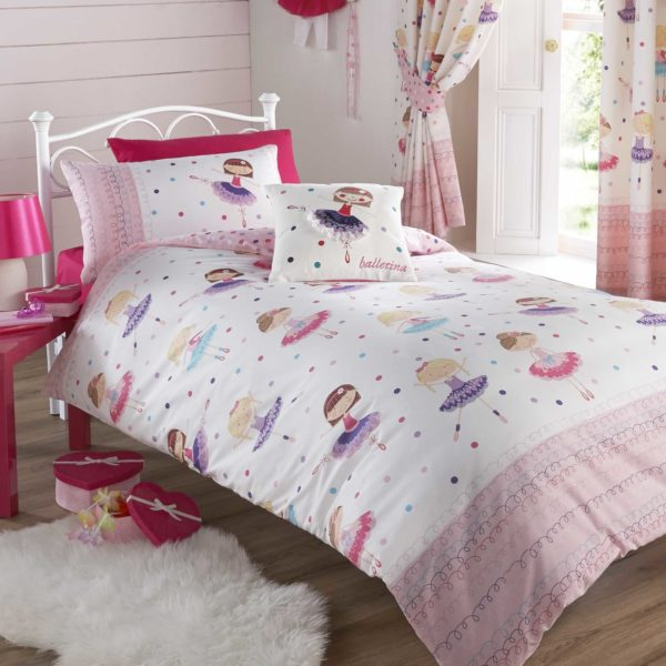 Childrens Ballerina Single Bedding