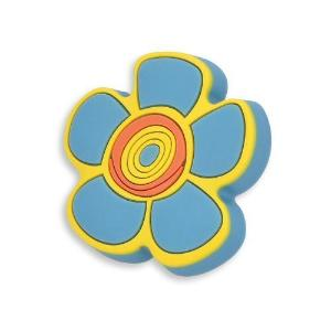 blue crazy daisy door knob