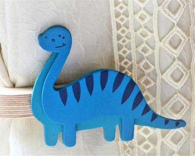 brontosaurus curtain tie backs