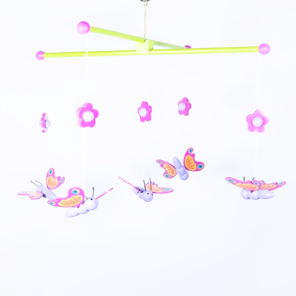 children's butterfly hanging mobile