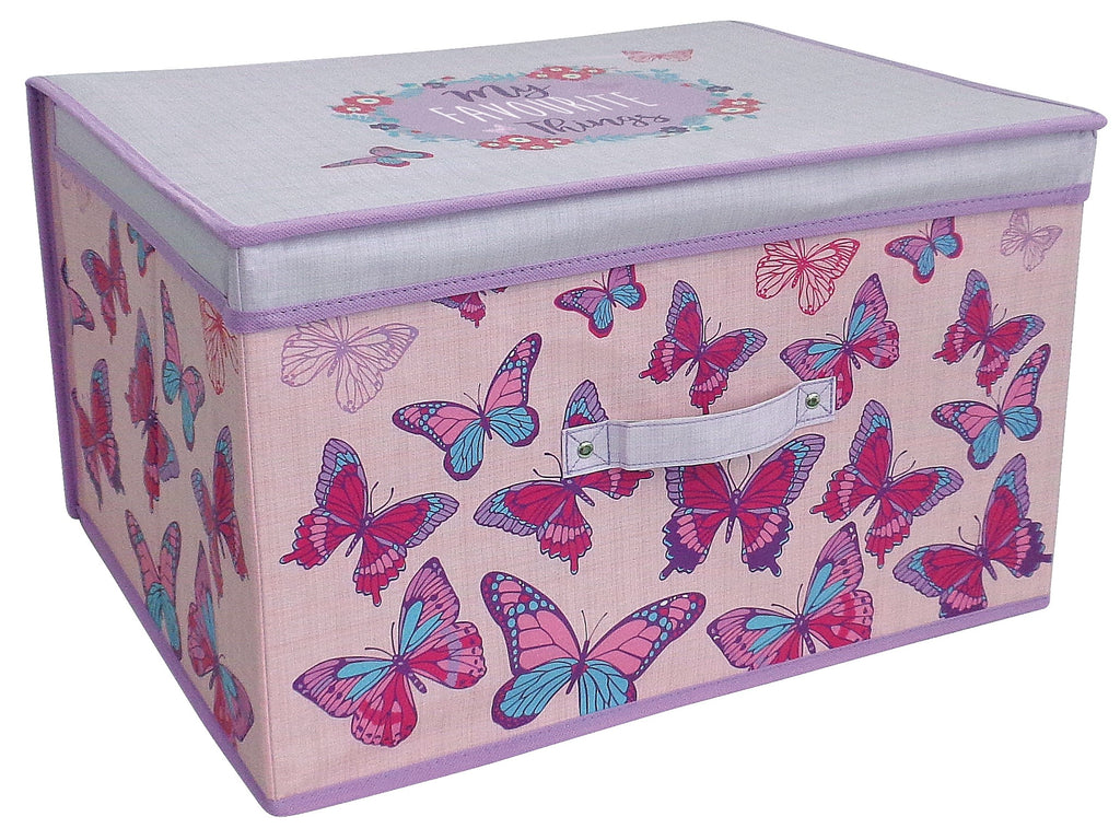 childrens butterfly storage box