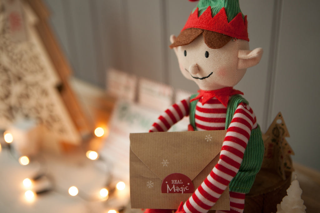 an elf for christmas - boy