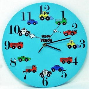 childrens transport clock