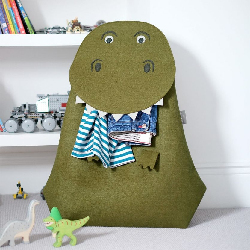 T-Rex laundry storage basket