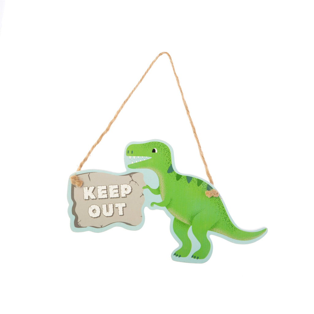 childrens dinosaur door plaque