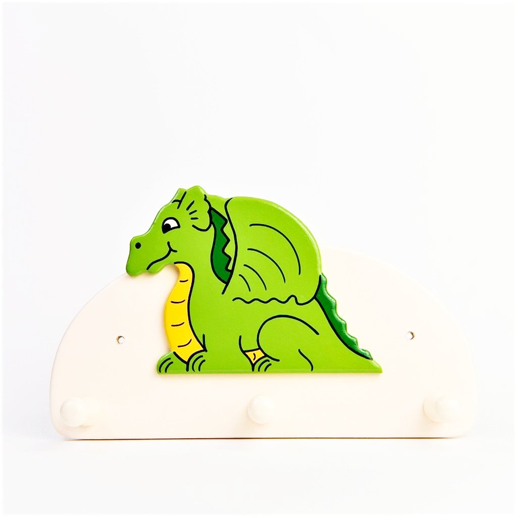 children's individual dragon coat wall hook