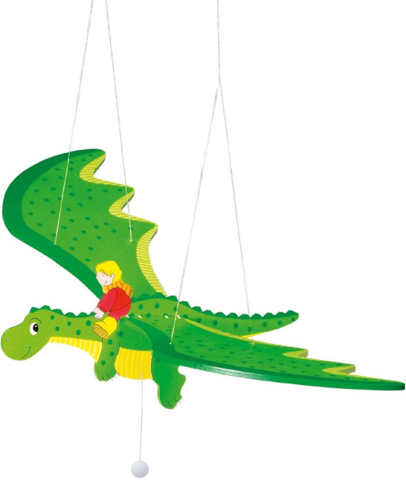 children's flying dragon hanging mobile