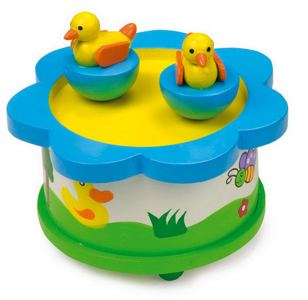 Ducks on a Pond Music Box