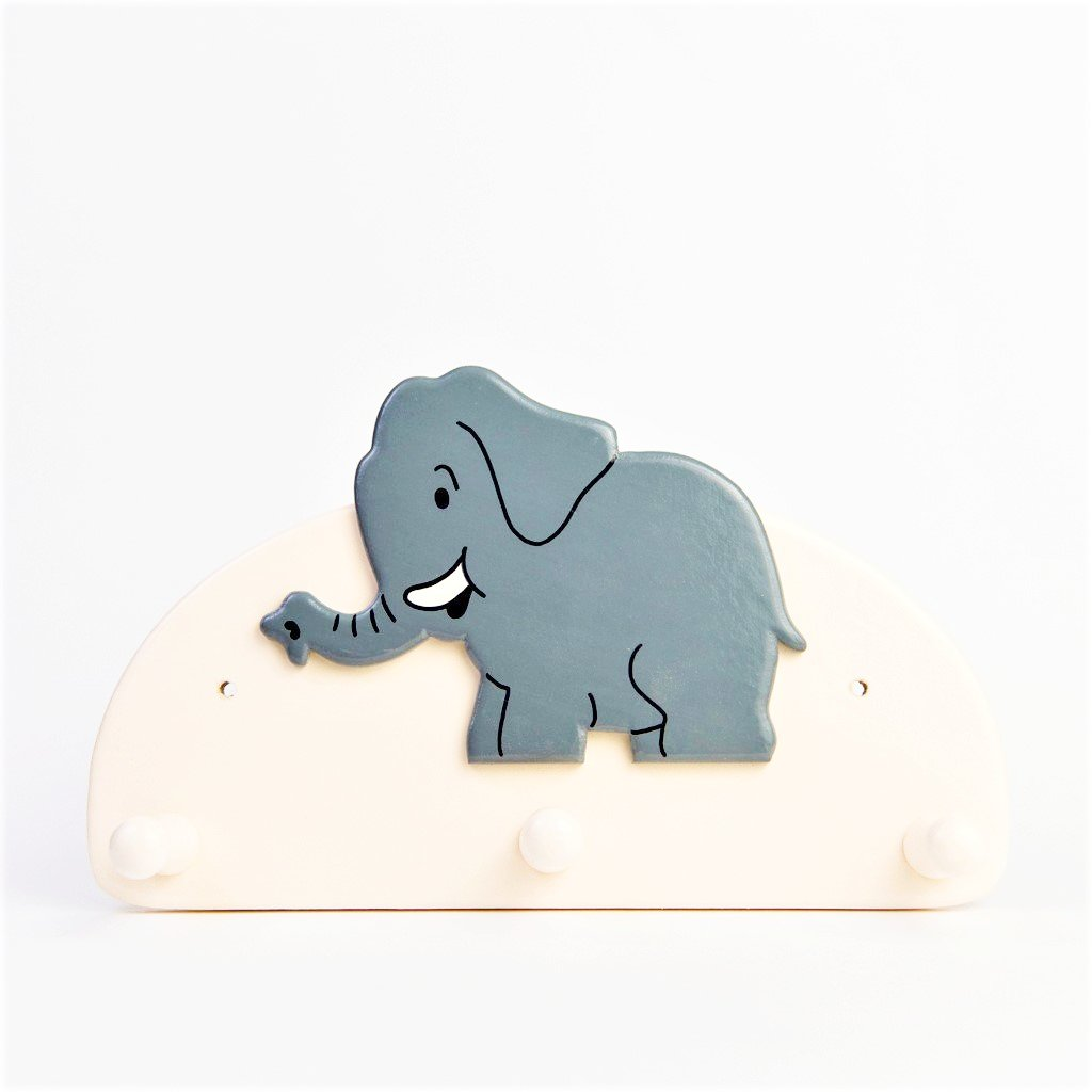 children's elephant coat hook