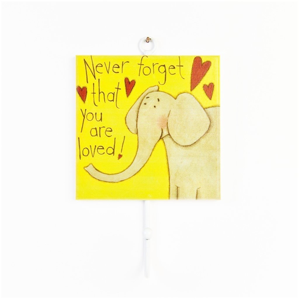 children's individual elephant coat wall hook