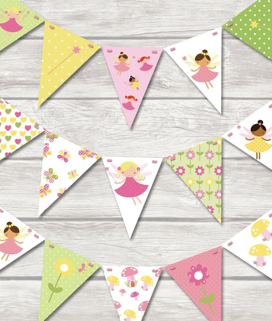 childrens fairy bunting