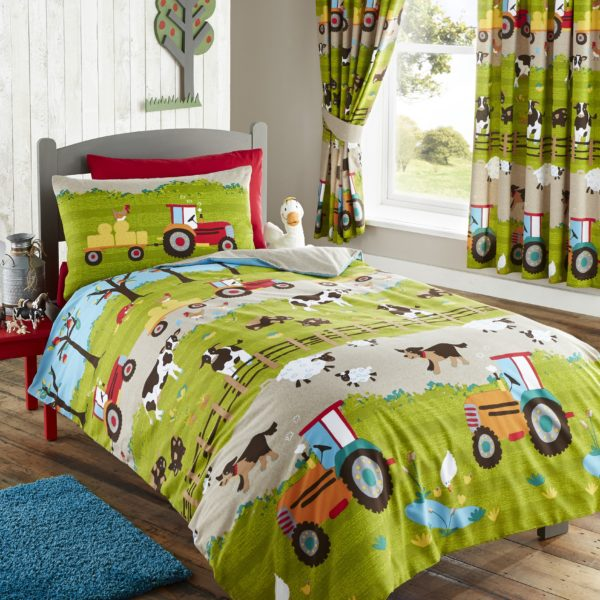 Childrens farmyard bedding