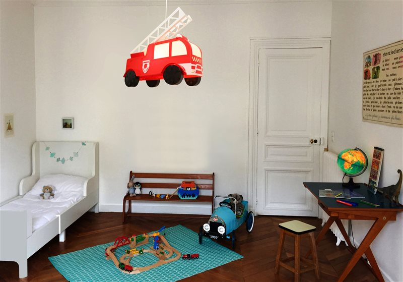 Fire Engine Ceiling Light