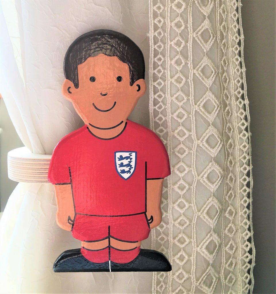 Footballer Boys Curtain Tie Backs