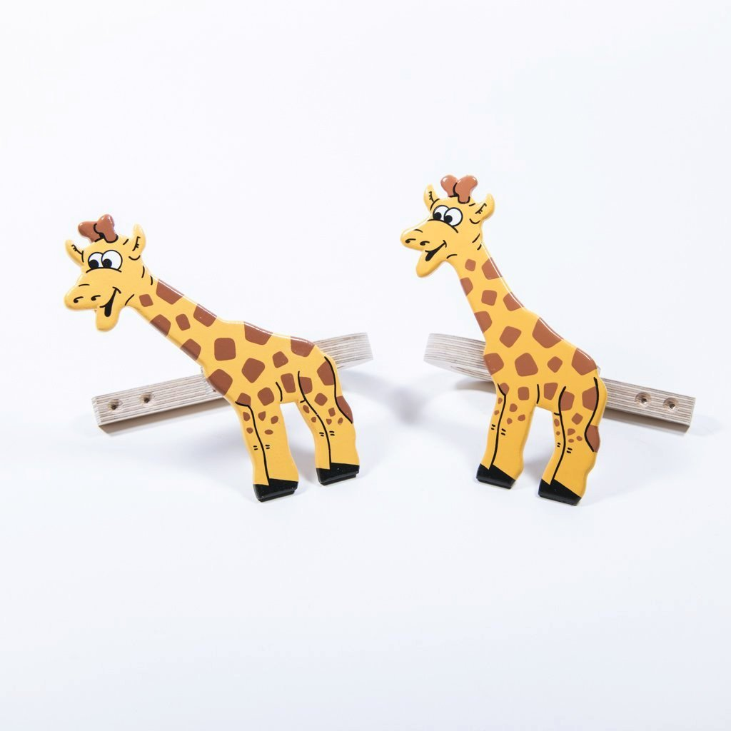 Giraffe Curtain Tie Backs
